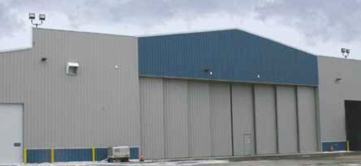 Metal Building Hangar