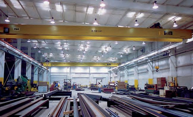 Industrial Metal Buildings with Interior Crane Systems