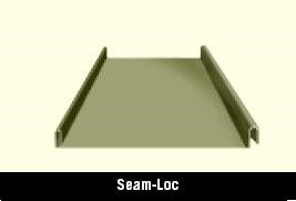 Seam Loc Roof Panel for a Metal Building